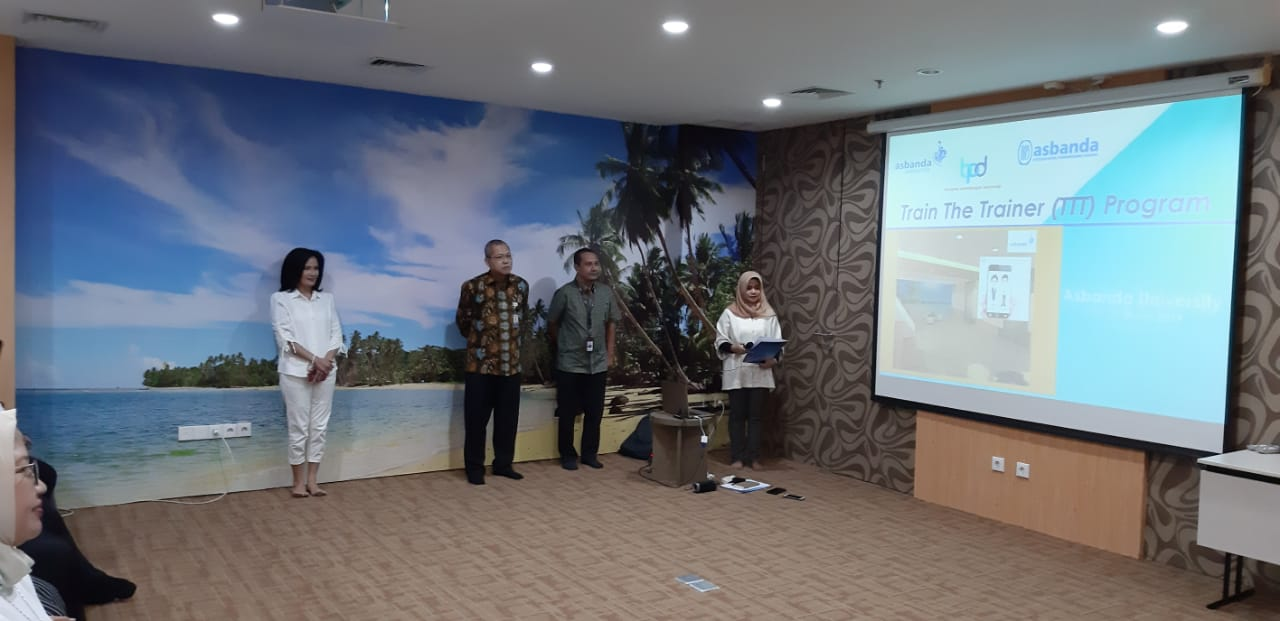 Pembukaan Train the Trainer Asbanda University 11-12 Maret 2019